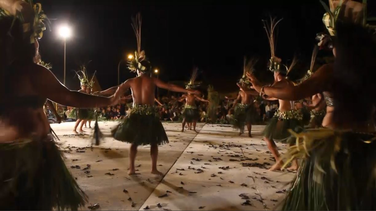 La troupe de Manu - Heiva 2013